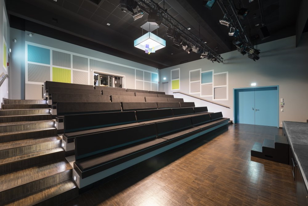 Planung Theater und Planung Zuschauerraum Theater Zielitz, Umbau Theater und Theater Design, Innenarchitektur Theater, KASEL Innenarchitekten